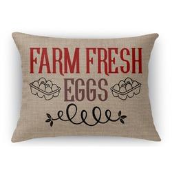 Farm Quotes Rectangular Throw Pillow Case (Personalized)