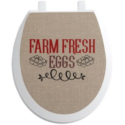 Farm Quotes Toilet Seat Decal (Personalized)