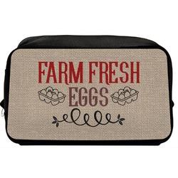 Farm Quotes Toiletry Bag / Dopp Kit (Personalized)