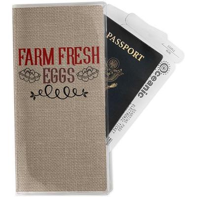 Farm Quotes Travel Document Holder
