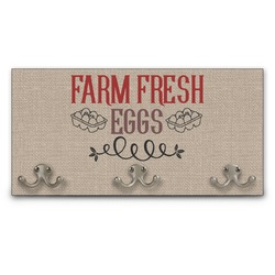 Farm Quotes Wall Mounted Coat Rack (Personalized)
