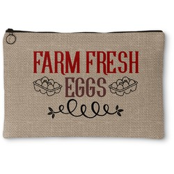 Farm Quotes Zipper Pouch (Personalized)