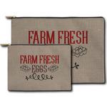 Farm Quotes Zipper Pouch (Personalized)