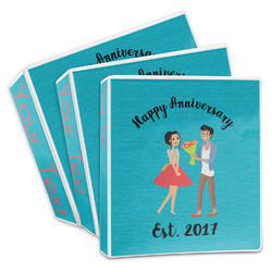 Happy Anniversary 3-Ring Binder (Personalized)