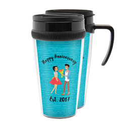 Happy Anniversary Acrylic Travel Mugs (Personalized)