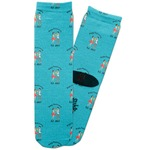 Happy Anniversary Adult Crew Socks (Personalized)