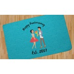 Happy Anniversary Area Rug (Personalized)
