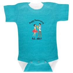 Happy Anniversary Baby Bodysuit (Personalized)