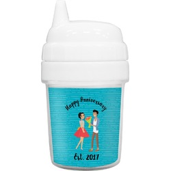Happy Anniversary Baby Sippy Cup (Personalized)