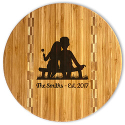 Happy Anniversary Bamboo Cutting Board (Personalized)