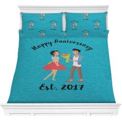 Happy Anniversary Comforters (Personalized)