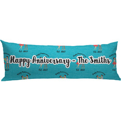 Happy Anniversary Body Pillow Case (Personalized)