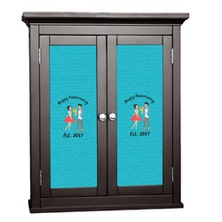 Happy Anniversary Cabinet Decal - Custom Size (Personalized)