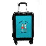 Happy Anniversary Carry On Hard Shell Suitcase (Personalized)