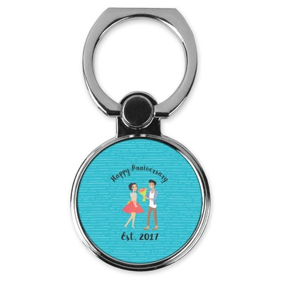 Happy Anniversary Cell Phone Ring Stand & Holder (Personalized)