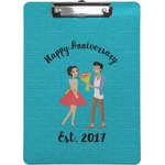 Happy Anniversary Clipboard (Personalized)