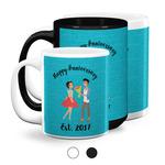 Happy Anniversary Coffee Mugs (Personalized)