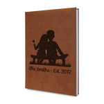 Happy Anniversary Leatherette Journal (Personalized)