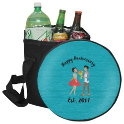 Happy Anniversary Collapsible Cooler & Seat (Personalized)