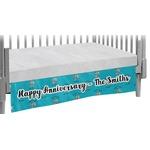Happy Anniversary Crib Skirt (Personalized)