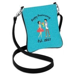 Happy Anniversary Cross Body Bag - 2 Sizes (Personalized)
