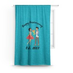 Happy Anniversary Curtain (Personalized)