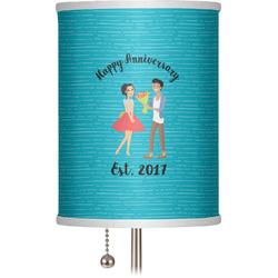 "Happy Anniversary 7"" Drum Lamp Shade (Personalized)"