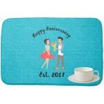 Happy Anniversary Dish Drying Mat (Personalized)