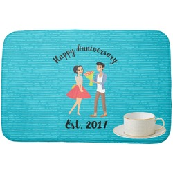Happy Anniversary Dish Drying Mat (Personalized)