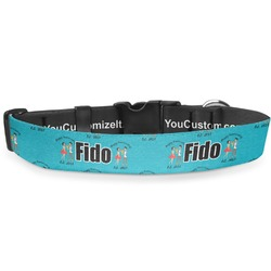 Happy Anniversary Deluxe Dog Collar (Personalized)