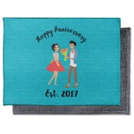 Happy Anniversary Microfiber Screen Cleaner (Personalized)