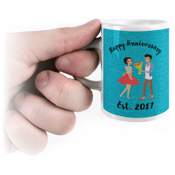 Happy Anniversary Espresso Cups (Personalized)