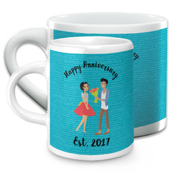Happy Anniversary Espresso Cups (Personalized)