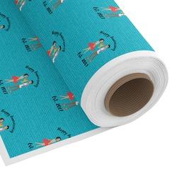 Happy Anniversary Custom Fabric - PIMA Combed Cotton (Personalized)