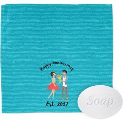 Happy Anniversary Wash Cloth (Personalized)