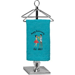 Happy Anniversary Finger Tip Towel - Full Print (Personalized)