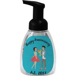 Happy Anniversary Foam Soap Dispenser (Personalized)