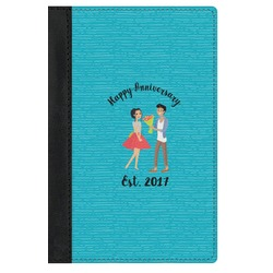 Happy Anniversary Genuine Leather Passport Cover (Personalized)