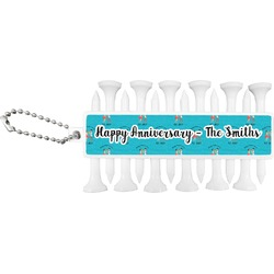 Happy Anniversary Golf Tees & Ball Markers Set (Personalized)