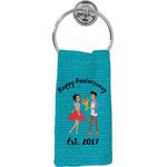 Happy Anniversary Hand Towel - Full Print (Personalized)