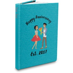 Happy Anniversary Hardbound Journal (Personalized)