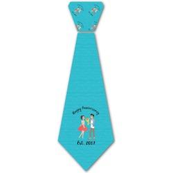 Happy Anniversary Iron On Tie (Personalized)