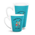 Happy Anniversary Latte Mug (Personalized)