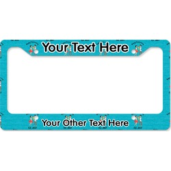 Happy Anniversary License Plate Frame (Personalized)
