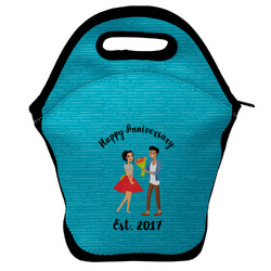 Happy Anniversary Lunch Bag w/ Couple's Names