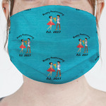 Happy Anniversary Face Mask Cover (Personalized)