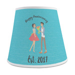 Happy Anniversary Empire Lamp Shade (Personalized)