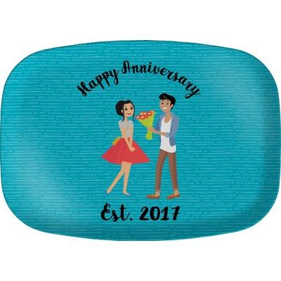 Happy Anniversary Melamine Platter (Personalized)