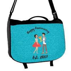 Happy Anniversary Messenger Bag (Personalized)