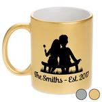 Happy Anniversary Metallic Mug (Personalized)